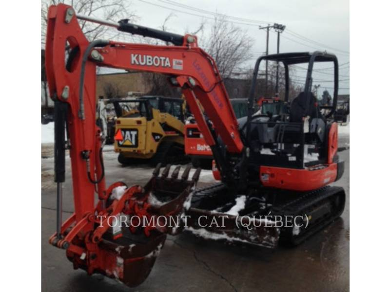 KUBOTA CORPORATION KETTEN-HYDRAULIKBAGGER KX040-4 equipment  photo 5