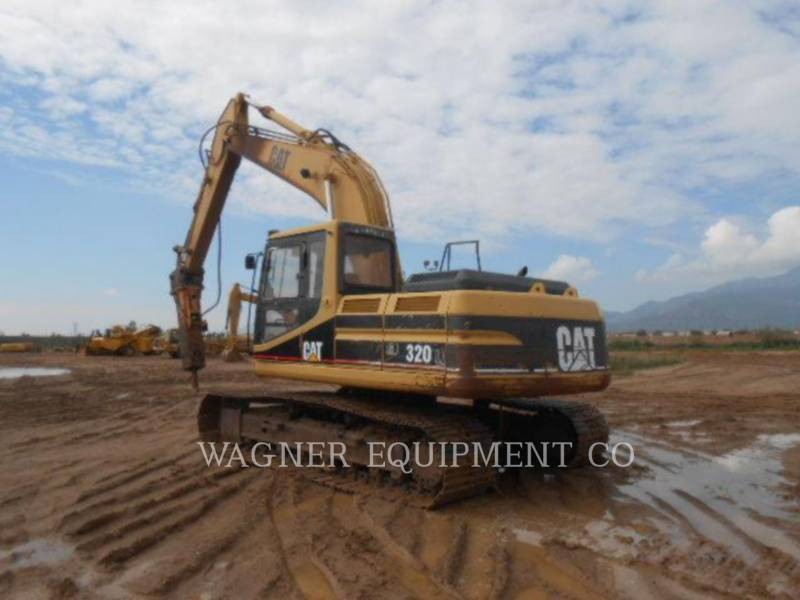 CATERPILLAR TRACK EXCAVATORS 320L HMR equipment  photo 1