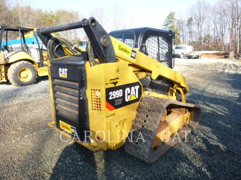 CATERPILLAR PALE CINGOLATE 299DXHP equipment  photo 3