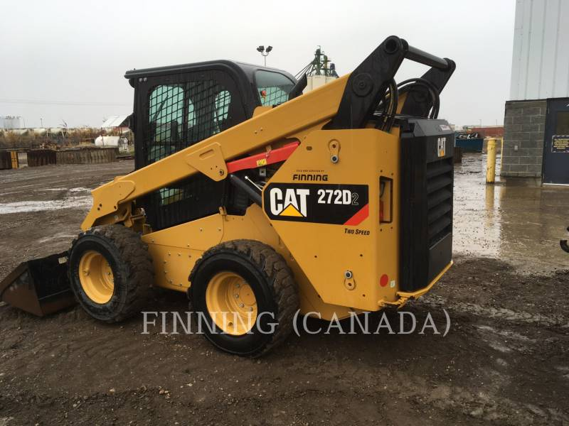 CATERPILLAR SKID STEER LOADERS 272D2 equipment  photo 4
