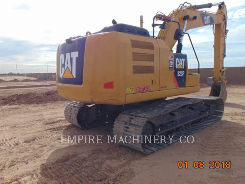 CATERPILLAR PELLES SUR CHAINES 323FL   ST equipment  photo 2