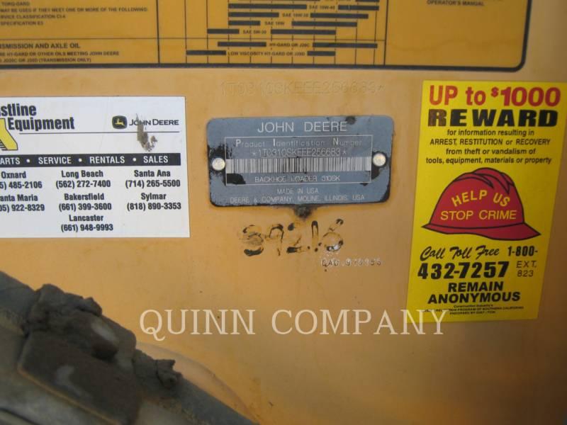 JOHN DEERE CHARGEUSES-PELLETEUSES 310 equipment  photo 8