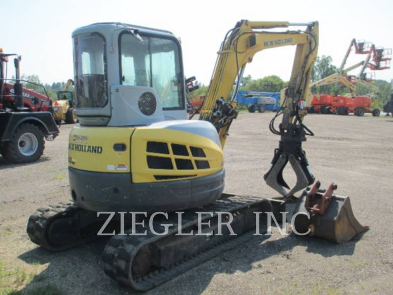 NEW HOLLAND LTD. トラック油圧ショベル E50SR equipment  photo 3