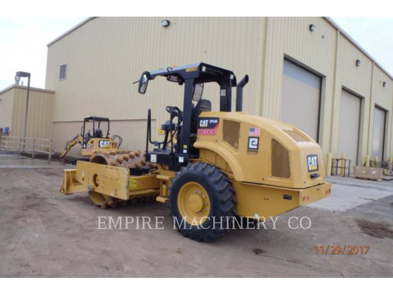 CATERPILLAR EINZELVIBRATIONSWALZE, BANDAGE CP44B equipment  photo 3