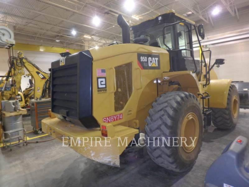 CATERPILLAR RADLADER/INDUSTRIE-RADLADER 950GC equipment  photo 2