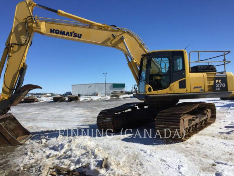 KOMATSU TRACK EXCAVATORS PC270LC-8 equipment  photo 2