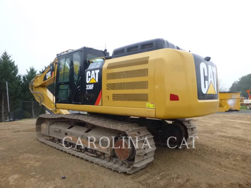 CATERPILLAR TRACK EXCAVATORS 336FL QC equipment  photo 2