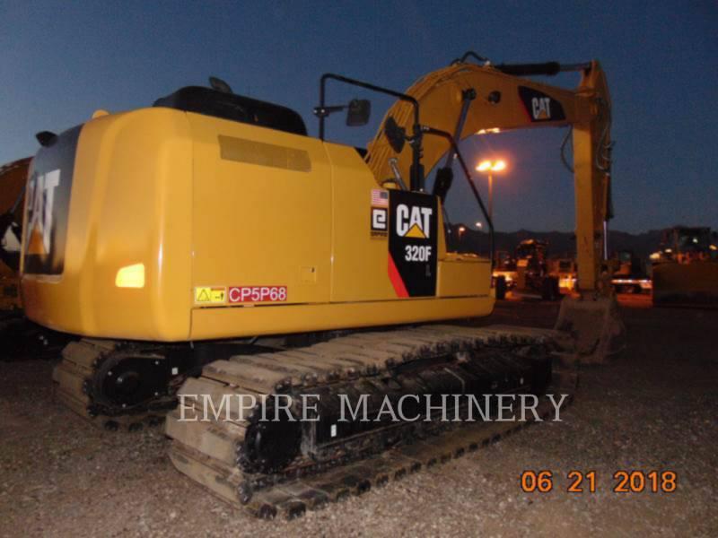 CATERPILLAR TRACK EXCAVATORS 320FL equipment  photo 2