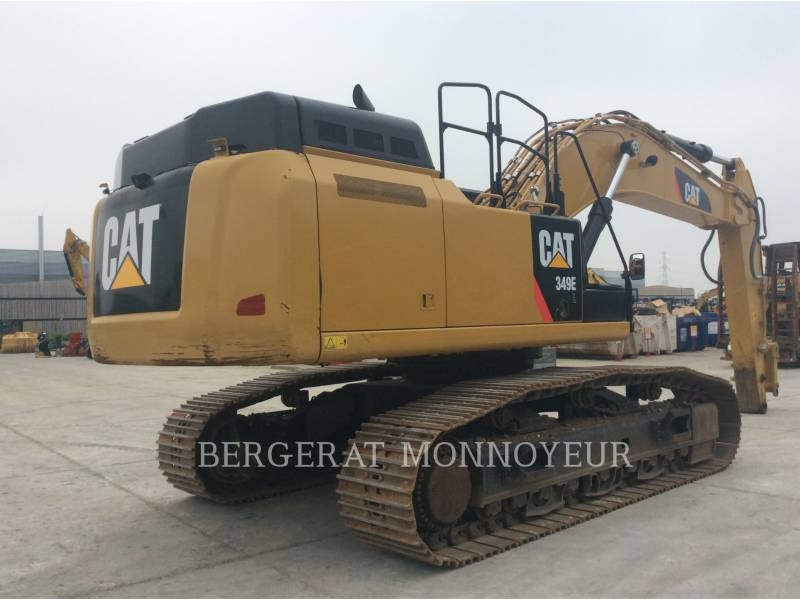 CATERPILLAR EXCAVADORAS DE CADENAS 349E equipment  photo 4