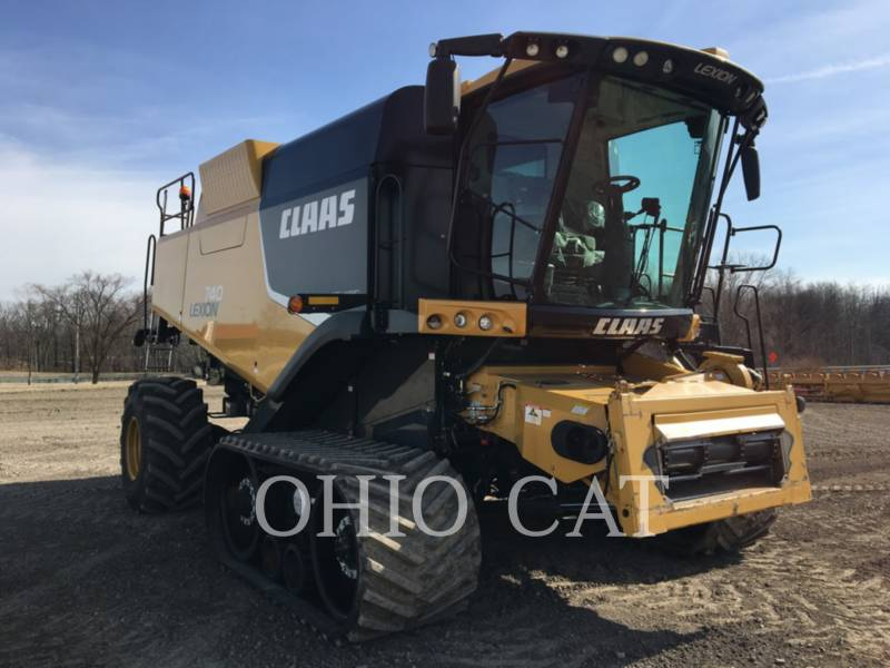 CLAAS OF AMERICA COMBINADOS LEX740TT equipment  photo 2