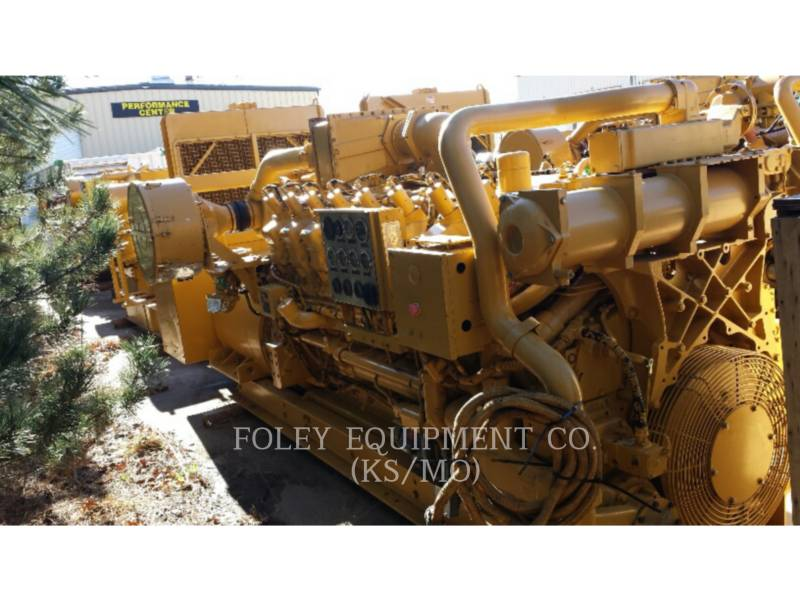 CATERPILLAR STATIONARY GENERATOR SETS G3516TAEP equipment  photo 1