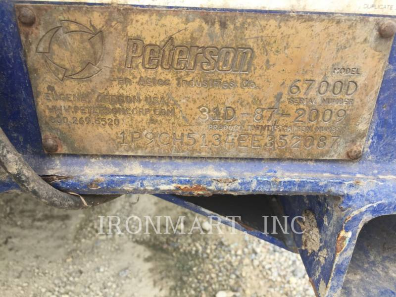 PETERSON CHIPPER, HORIZONTAL 6700D equipment  photo 8