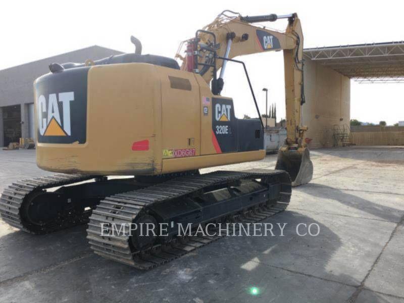 CATERPILLAR EXCAVADORAS DE CADENAS 320E LRR equipment  photo 2