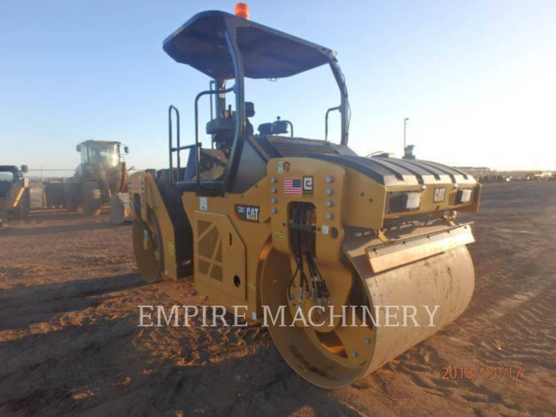 CATERPILLAR VIBRATORY DOUBLE DRUM ASPHALT CB7 equipment  photo 1