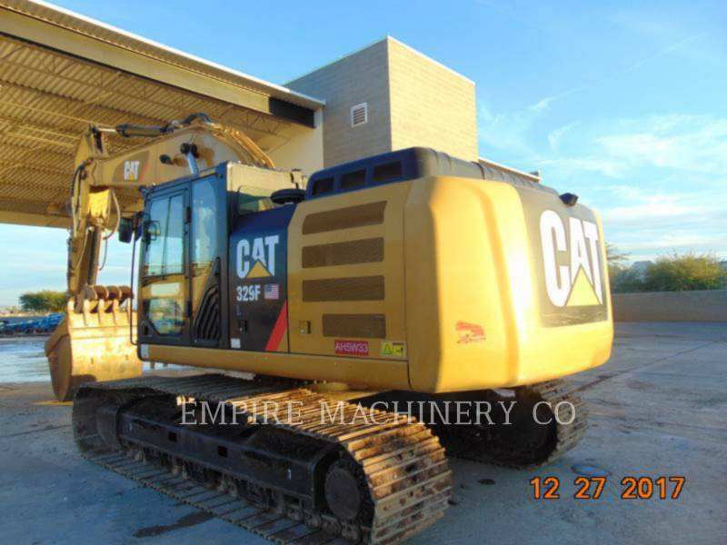 CATERPILLAR ESCAVATORI CINGOLATI 329FL TH P equipment  photo 3