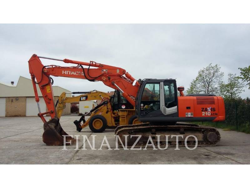 HITACHI KETTEN-HYDRAULIKBAGGER ZX210 equipment  photo 1