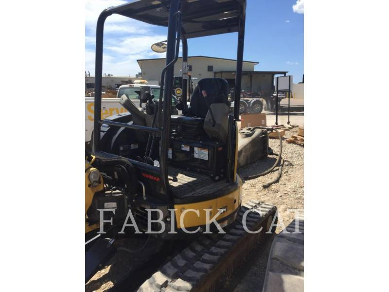 YANMAR TRACK EXCAVATORS VIO35 equipment  photo 2
