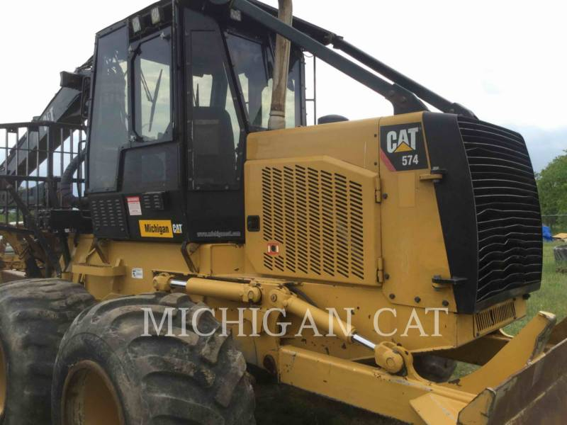 CATERPILLAR MACHINE FORESTIERE 574 equipment  photo 23