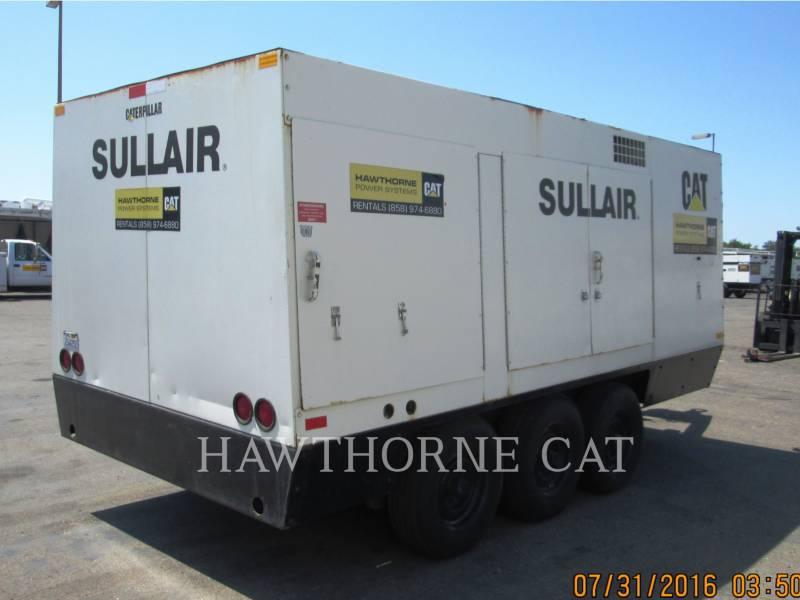 SULLAIR AIR COMPRESSOR 1600HF DTQ-CA3 equipment  photo 2