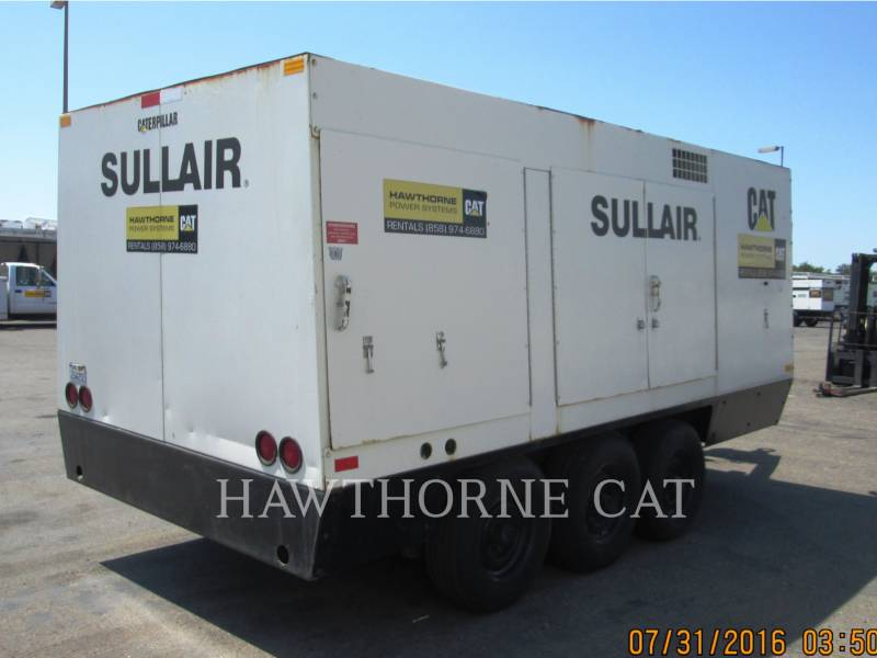 SULLAIR エア・コンプレッサ (OBS) 1600HF DTQ-CA3 equipment  photo 3