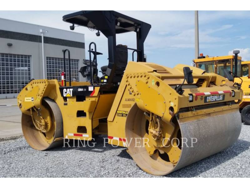 CATERPILLAR VIBRATORY DOUBLE DRUM ASPHALT CB54XW equipment  photo 2
