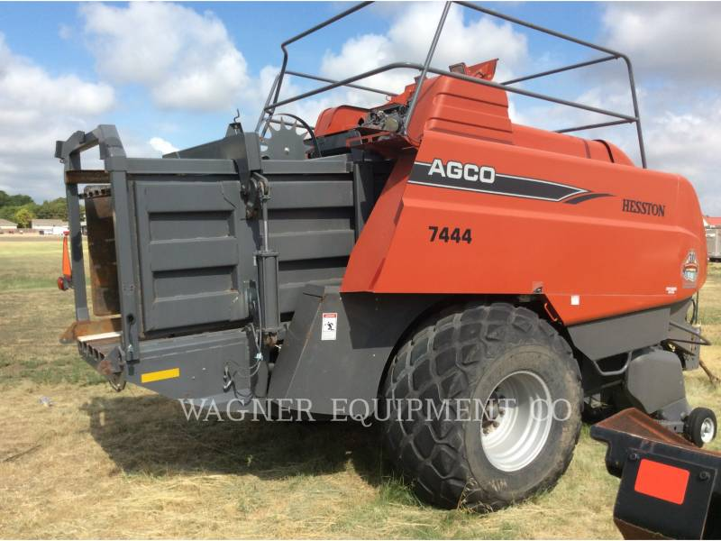 AGCO-HESSTON CORP AG HAY EQUIPMENT 7444 equipment  photo 2