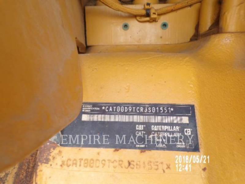 CATERPILLAR TRACTEURS SUR CHAINES D9T equipment  photo 4