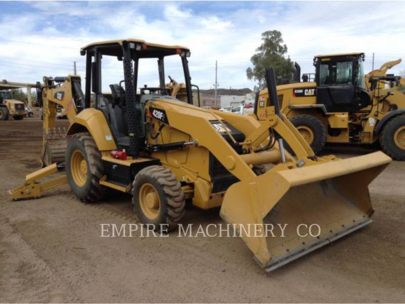 CATERPILLAR BACKHOE LOADERS 420F2 4EOP equipment  photo 1