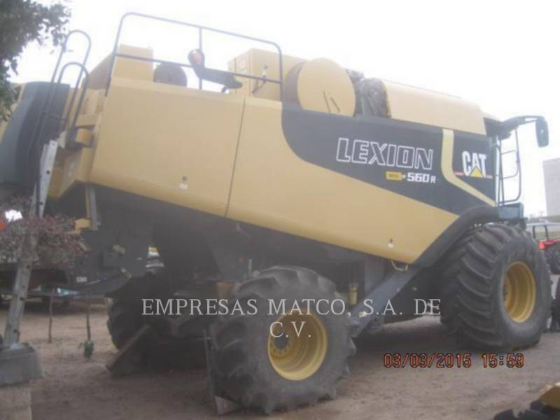LEXION COMBINE COMBINES 560R equipment  photo 4