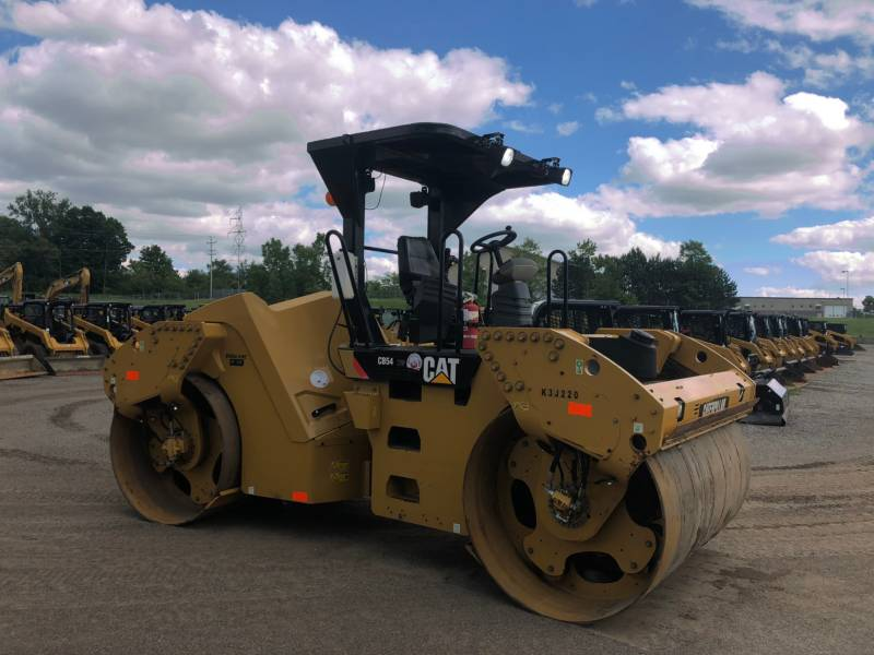 CATERPILLAR TANDEMVIBRATIONSWALZE, ASPHALT CB 54 equipment  photo 15