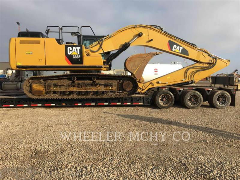 CATERPILLAR KETTEN-HYDRAULIKBAGGER 336F L THM equipment  photo 8