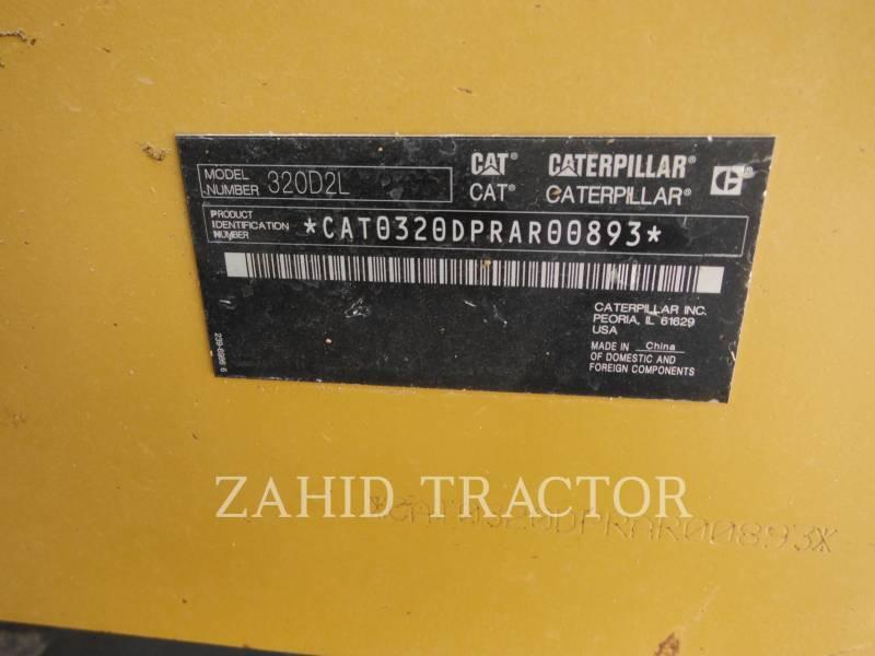 CATERPILLAR 履带式挖掘机 320D2L equipment  photo 8