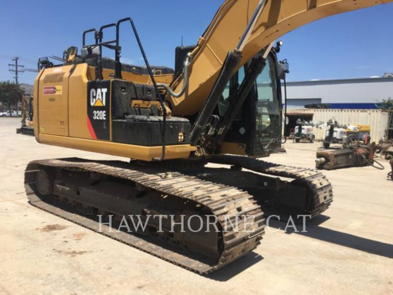 CATERPILLAR KETTEN-HYDRAULIKBAGGER 320EL equipment  photo 2