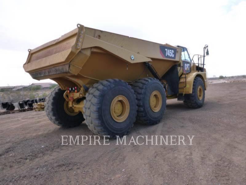 CATERPILLAR DUMPER ARTICOLATI 745C equipment  photo 2
