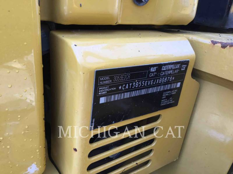 CATERPILLAR ESCAVADEIRAS 305.5E2CR equipment  photo 18
