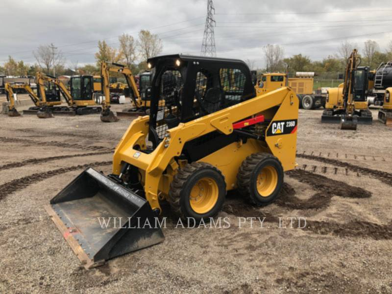 CATERPILLAR SKID STEER LOADERS 236D equipment  photo 1