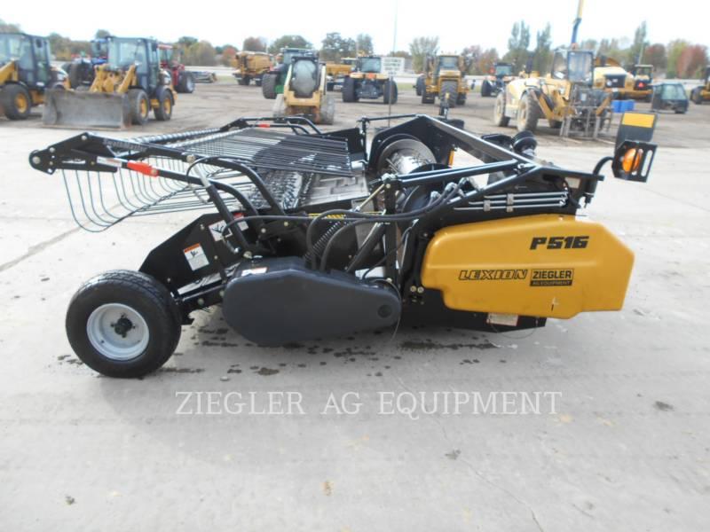 LEXION COMBINE Cabezales P516 equipment  photo 2