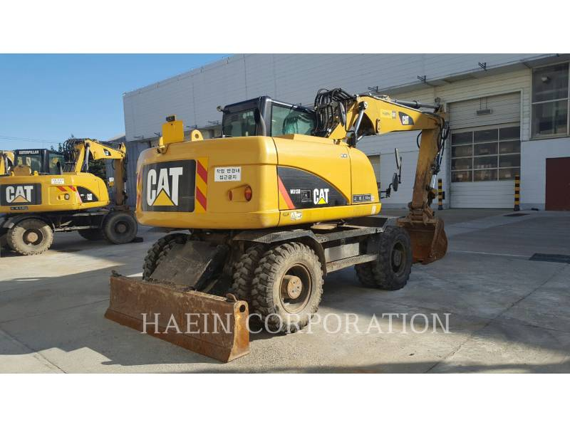 CATERPILLAR ESCAVATORI GOMMATI M313D equipment  photo 5