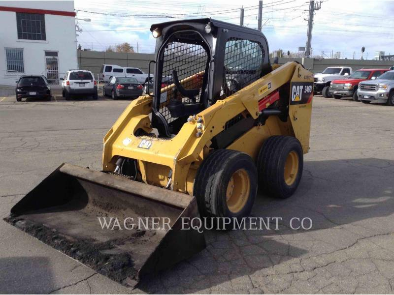 CATERPILLAR SKID STEER LOADERS 246D HF equipment  photo 1