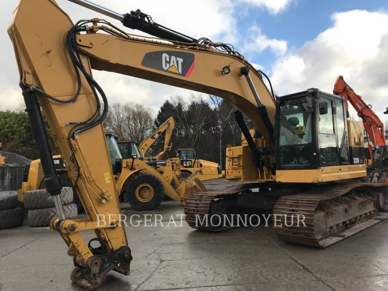 CATERPILLAR PELLES SUR CHAINES 328 D LCR equipment  photo 5