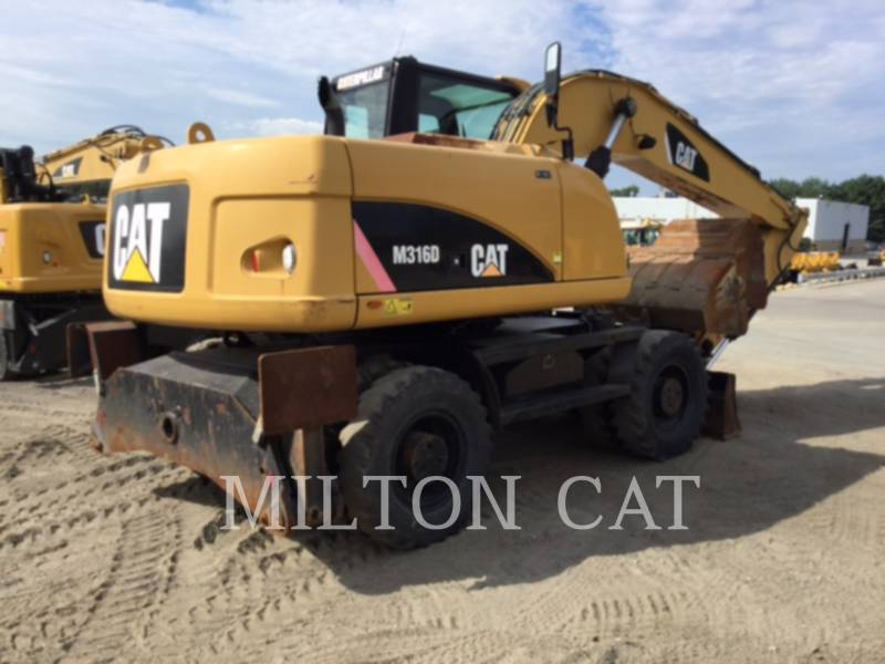 Caterpillar EXCAVATOARE PE ROŢI M316D equipment  photo 5