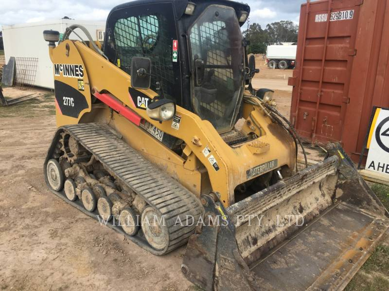 CATERPILLAR SKID STEER LOADERS 277C equipment  photo 3