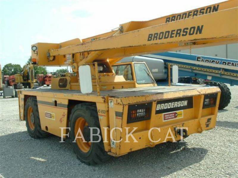 BRODERSON CRANE ŻURAWIE IC250-C3 equipment  photo 6