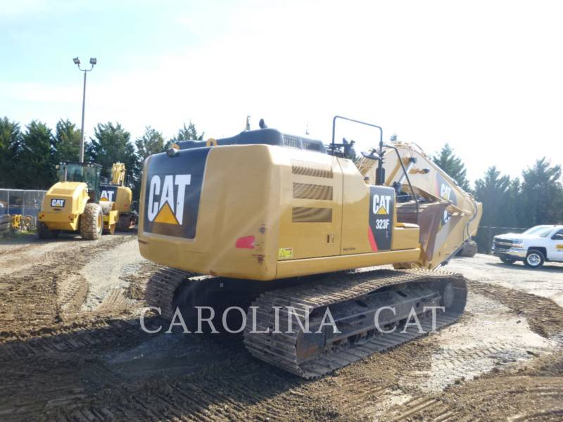 CATERPILLAR KETTEN-HYDRAULIKBAGGER 323FL QC equipment  photo 5