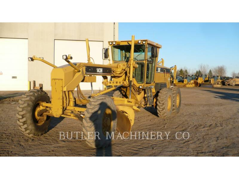 CATERPILLAR モータグレーダ 143 H equipment  photo 1
