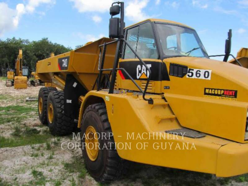 CATERPILLAR CAMIONES ARTICULADOS 740 equipment  photo 6