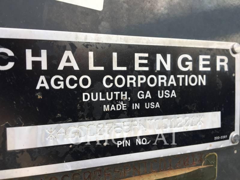 AGCO-CHALLENGER AG TRACTORS MT765B equipment  photo 11