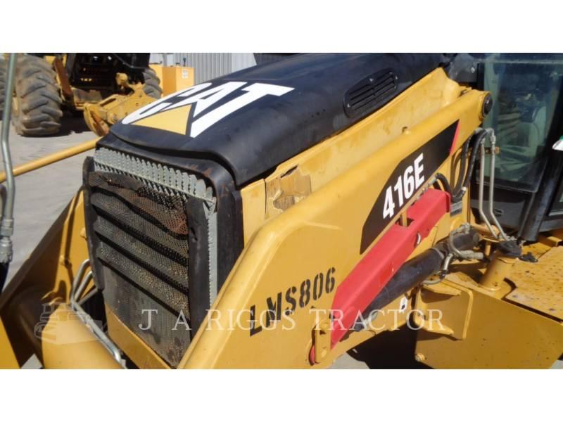 CATERPILLAR RETROEXCAVADORAS CARGADORAS 416E 2A equipment  photo 5