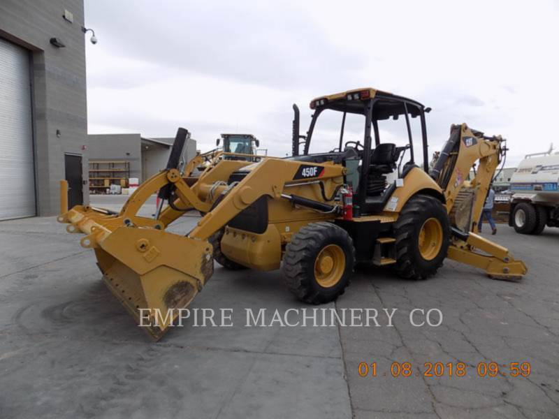 Caterpillar BULDOEXCAVATOARE 450F 4EOM equipment  photo 4