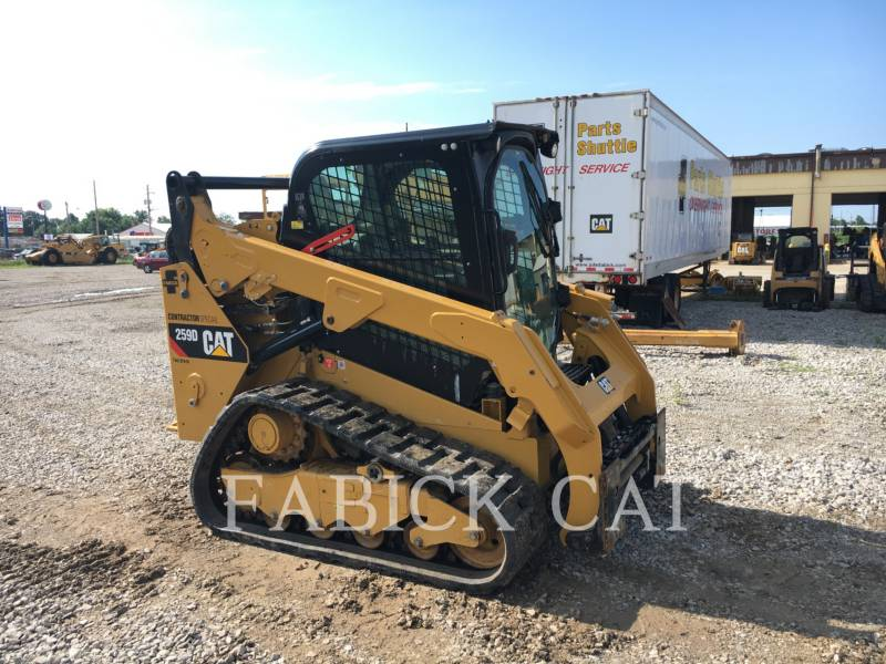 CATERPILLAR DELTALADER 259D equipment  photo 2